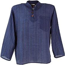 rivenditore di vendita 63693 94240 Amazon.it: camicia etnica uomo - Blu