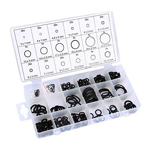 Aluminium O-Ring Joint D/'étanchéité étanchéité Anneaux Rondelles Assortiment 206 pces Voiture Set