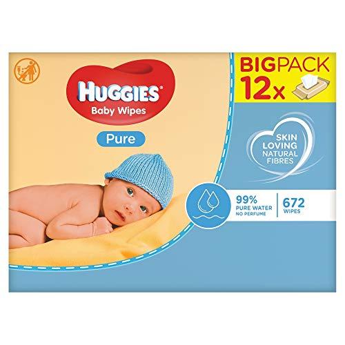 Huggies Pure - Toallitas para bebé, 672...
