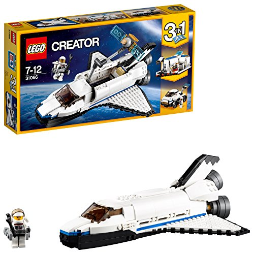 LEGO Creator 31066 - Forschungs-Spaceshuttle (Papier-auto-modell)
