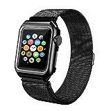 Bracelet magnétique de Rechange en Acier Inoxydable avec étui pour Apple Watch 4, 40m Montres Hommes Pas cheres
