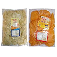 Shahi rice papdi 500gm pack(ajvain flavour) with Shahi corn papdi 250gm pack