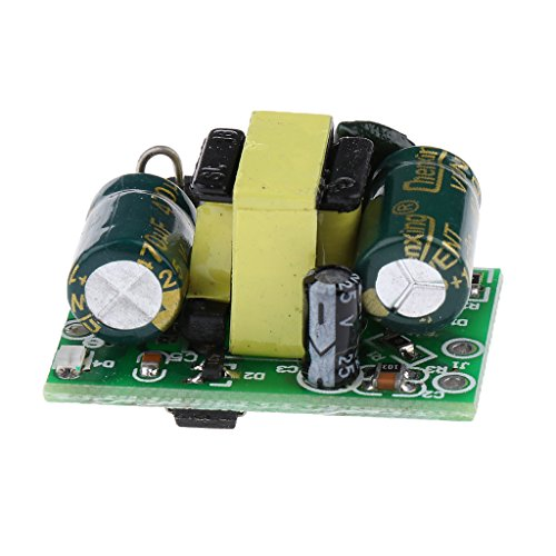 Sharplace 12v 400mA Getrennte Schaltnetzteil-Modul Schaltung Stromkabel Stromversorgungsmodul 220V to 12V 5V (12-volt-spannungsregler Schaltung)