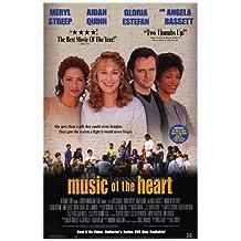 Póster de película de la música en forma de corazón en 27 x 40 - 69 cm x 102 cm Meryl Streep Angela Bassett Aidan Quinn Gloria Estefan Cloris Leachman Kieran Culkin