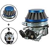 carbohidratos carburador + filtro de aire para 49cc 50cc 60 66 80cc 2 tiempos