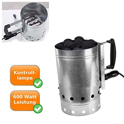 hochwertiger elektrischer Grillanzünder - Grill Kohle Brikett Holzkohle Kohle Anzünder - elektrisch
