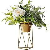GH Vase Goldene Moderne Minimalistische Wohnzimmer Goldene Vase Dekoration Kreative Schmiedeeisen Desktop Blumentopf Blumenständer