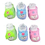 EIO™ New Born Baby Socks cum shoes - 2 Pair set Free Delivery