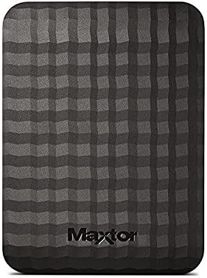 Maxtor M3 500 GB USB 3.0 Slimline Portable Hard Drive