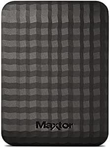 Maxtor M3 HDD Esterno da 4TB, 2,5', Nero/Antracite