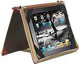 Xcase Tablet Tasche: Elegante Schutztasche im Buch-Design für iPad &