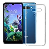 QULLOO Compatible with LG Q60 Case Soft TPU Protective Case