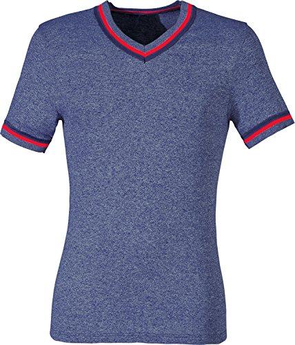 Preisvergleich Produktbild Unterhemd 1/2-Arm 2er-Pack Feinripp jeansblau Größe 9
