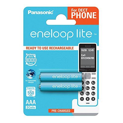 Eneloop PANASONIC ENELOOP Lite R03/AAA 550mAh ? 2 szt Blister.