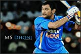 #6: Love st - Mahendra Singh Dhoni MSD Cricket - Poster for Home and Office