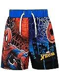 Marvel Costume da Bagno per Ragazzi a Due Pezzi Spiderman Multicolore 9-10 Anni