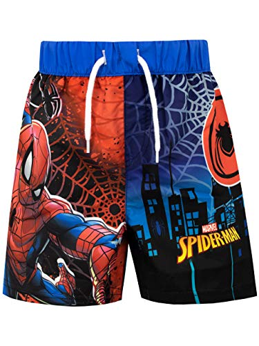 Marvel Jungen Spiderman Badeshorts Mehrfarbig 116