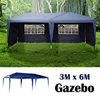 AutoBaBa All Seasons Gazebos, Garden Gazebo Marquee Tent with Side Panels, Fully Waterproof, Powder Coated Steel Frame for Outdoor Wedding Garden Party 12
