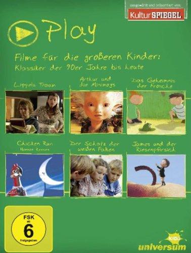 Play Box 3 - Filme für die größeren Kinder: Klassiker der 90er Jahre bis heute [6 DVDs] (Fischer Kinder-film)