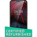 (Renewed) Nokia 6.1 Plus TA-1083 DS (Black, 64GB)
