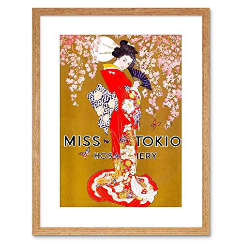 Wee Blue Coo Ad Clothing Hosiery Geisha Kimono Japanese