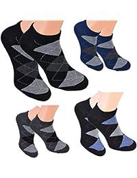 8 Paar kurze Sneakers-Socken für Herren Markensocken von Cocain - 6 verschiedene Top-Modelle wählbar Größen - die modische Sommersocke für Ihn - 39 bis 46