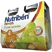 Nutribén Zumo Frutas Variadas -2 paquetes de 130 ml