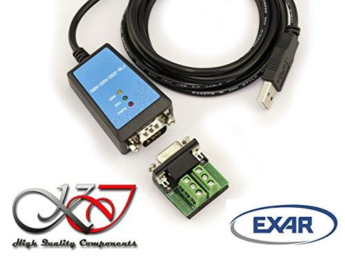 kalea-informatique-konverter-usb-auf-rs232-rs422-rs485-chipsatz-exar-xr21b1411-kabel-18-m-schutz-mag