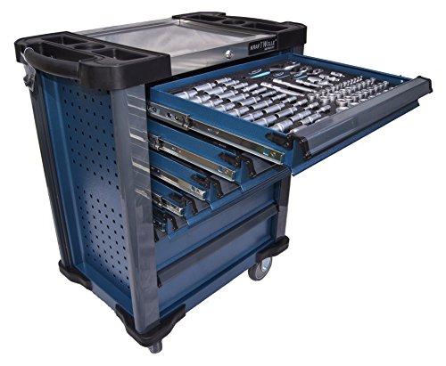 Werkstattwagen gefüllt mit Werkzeug Werkzeugschrank Werkzeugwagen Werkzeugkiste - 9