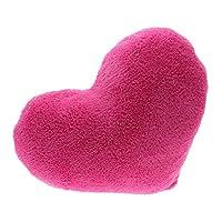 DDU Soft Love Heart Shape Fluffy Pillows Cushions Block Gifts Sofa Decoration Hot Pink