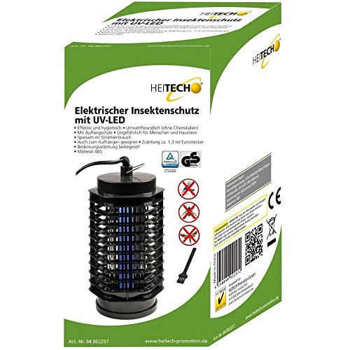 *Elektrischer UV Insektenvernichter Insektenfalle Fliegenfalle Mückenfalle  Fliegenfänger UV nur 3W*