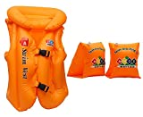 Novicz CMBO-596-2-590 Swimming Combo Set, Kids (Orange)