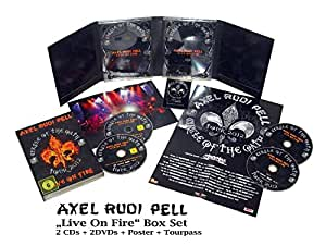 Live on Fire (Circle of the Oath Tour 2012) [2 DVDs] [Limited Edition]