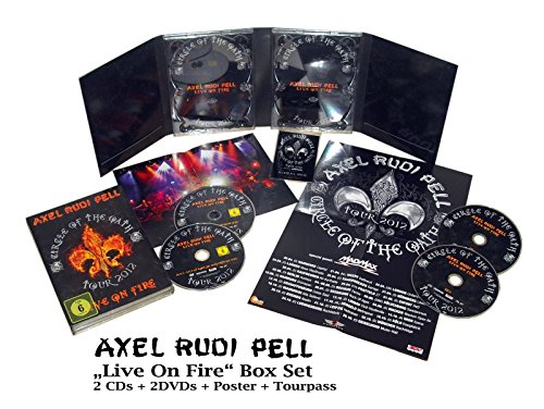 Bild von Live on Fire (Circle of the Oath Tour 2012) [2 DVDs] [Limited Edition]