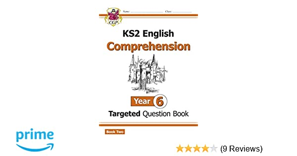 New KS2 English Targeted Question Book: Year 6 Comprehension