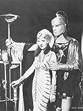 Artland Qualitätsbilder I Alu Dibond Bilder Alu Art 60 x 80 cm Film TV Film Foto Schwarz Weiß B9HU Cleopatra 1934
