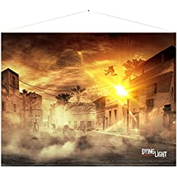 Dying Light Wallscroll Parkour 100 x 77 cm Gaya Entertainment Posters Wallscrolls