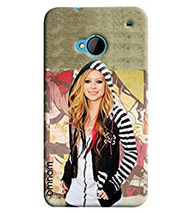 Omnam Hollywood Actress Printed Designer Back Cover Case For HTC One M7