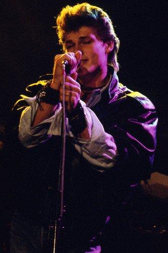 A-Ha Morten Harket classic 1980's pose in concert 24x36inch (60x90cm) Poster