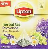 Lipton Kräutertee Lavendel Kamille Pyramidenbeutel 20 Stück