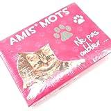 Box notepad 'Un Amour D'animaux'.