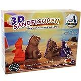 3D Sandfiguren Sandformen Modellieren Katze Pony Gips Schnee Sand
