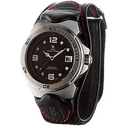 Swiss Mountaineer Herren-Armbanduhr Mont Vully Red Analog Quarz SM1451