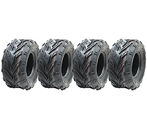 4- 18x9.50-8 ATV tyre Quad trailer 18 950 8 tire Dirt trail E marked road legal