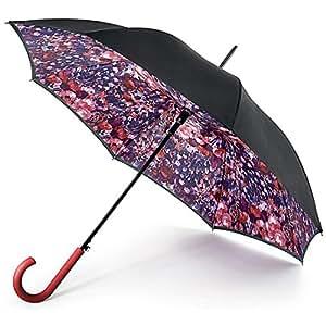 Fulton Women's Bloomsbury 2 Floral Umbrella, Multicoloured (Watercolour), One size