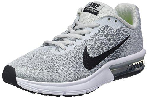 best website 7f2e4 6d20c Nike Air Max Sequent 2 (GS), Scarpe Running Bambino, Grigio (Pure