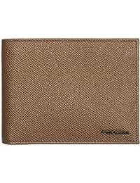02d1204d2ade7 Dolce Gabbana portafoglio uomo pelle bifold originale marrone