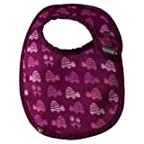 Close Parent 5120011106 - Babero reversible, color fucsia con tortugas, talla S