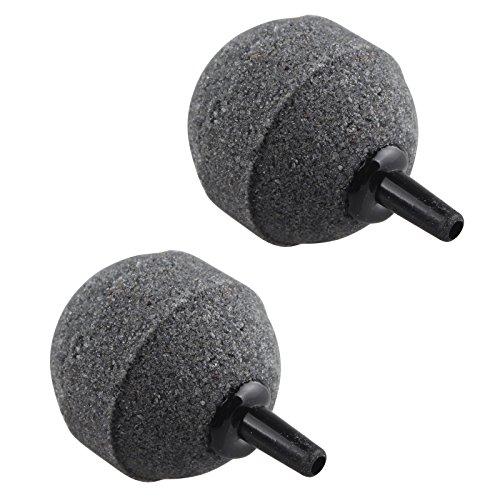 2pcs 50mm Fish Tank Ball Bubble Air Stones Difusor