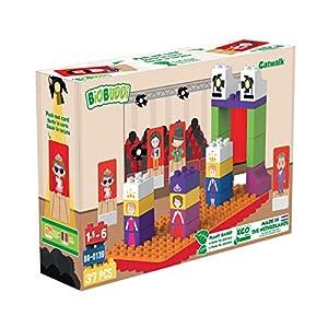 BiOBUDDi BB-0139 Bloque de construcción de Juguete - Bloques de construcción de Juguete, 37 Pieza(s), Rectangular, Imagen, Preescolar, Niño/niña